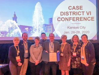 Group photo from CASE District VI Conference