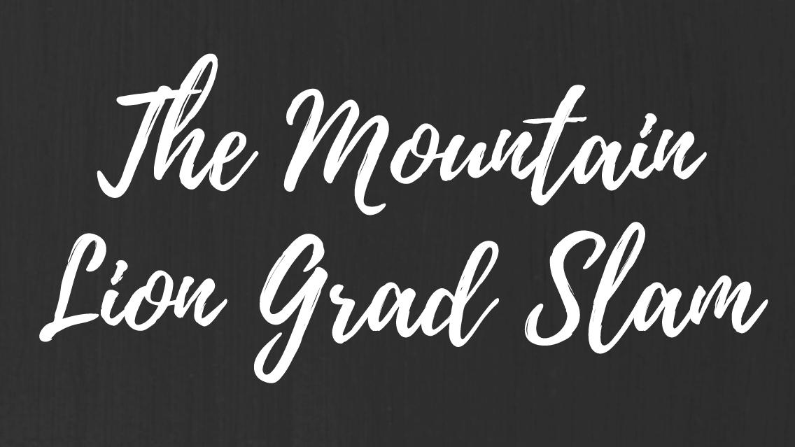 Mountain Lion Grad Slam graphic
