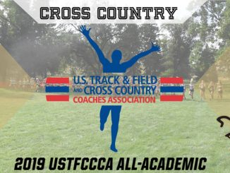 USTFCCCA All-Academic graphic