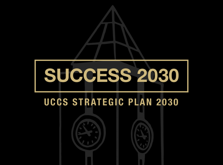 The front cover of the Success 2030 UCCS Strategic Plan booklet.