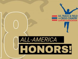 All-America graphic for the 18 Mountain Lion track and field honorees