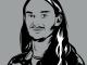 Graphic illustration of a headshot of Joshua Hedrick