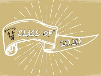 A banner for the UCCS Class of 2020
