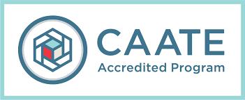 CAATE accreditation logo