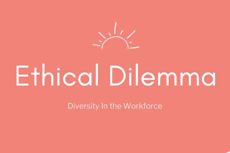 Title card for the Ethical Dilemma video