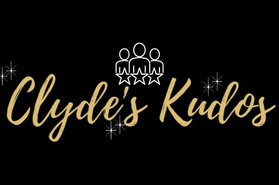 Clyde's Kudos graphic
