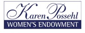 Karen Possehl Women's Endowment graphic