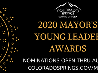 2020 Mayor's Young Leader Award graphic
