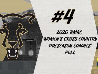 Women's cross country preseason coaches poll graphic