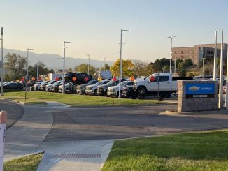 A car lot in Colorado Springs