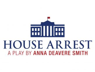Graphic logo for the play House Arrest
