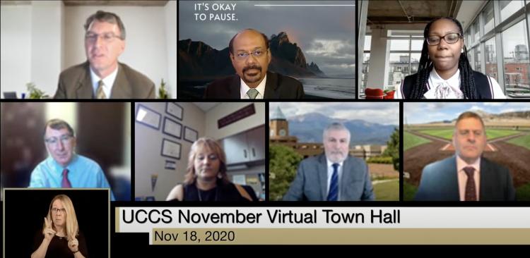 UCCS November Town Hall