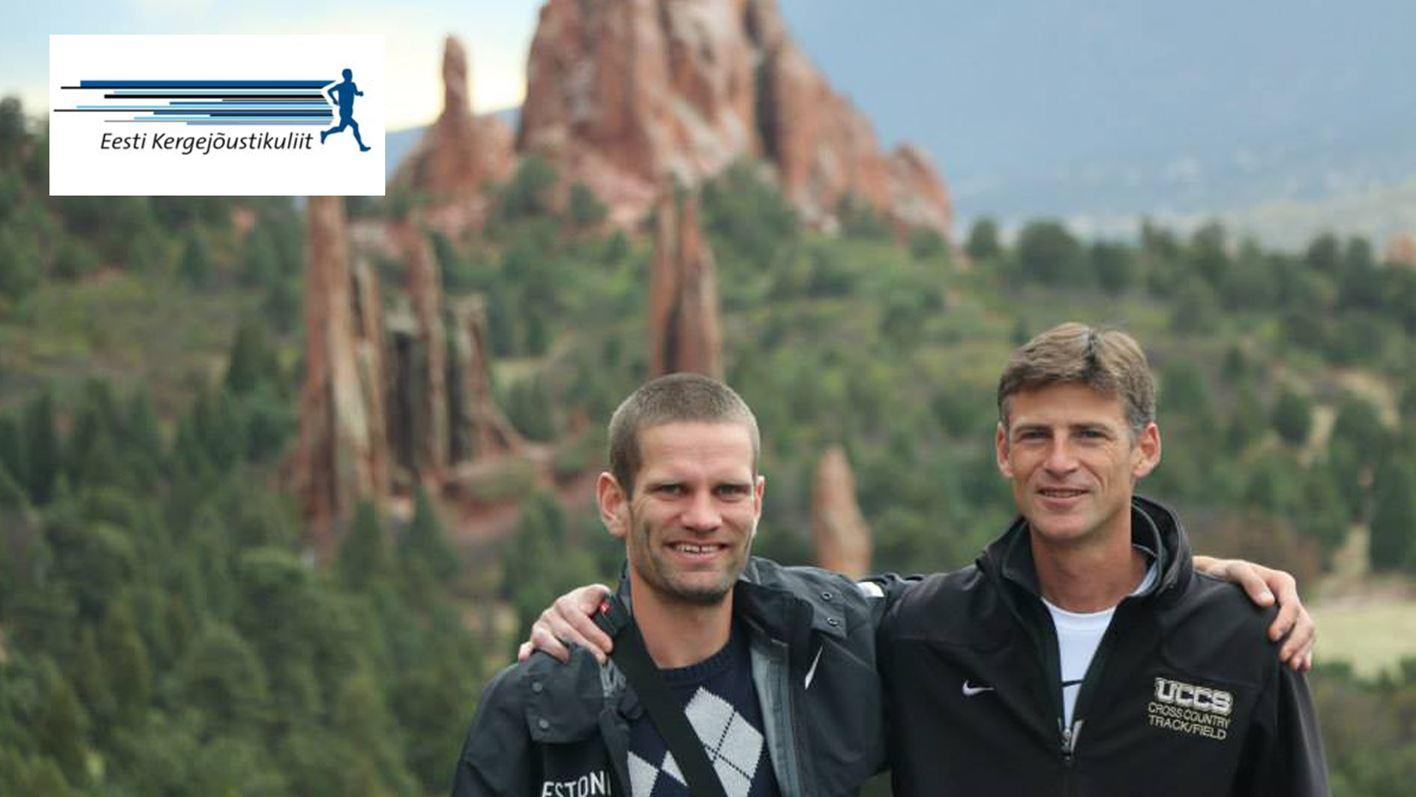 Mark Misch and Tiidrek Nurme at Garden of the Gods