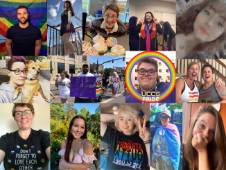 Collage of faces from the UCCS community