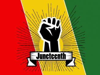 Juneteenth graphic