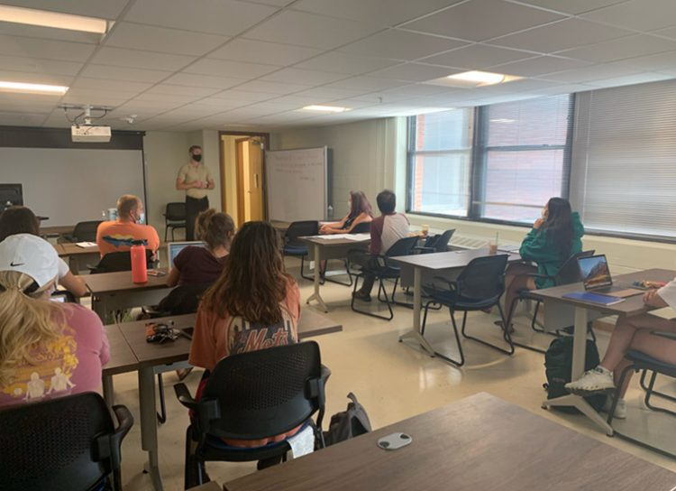 Fort Carson classroom setting